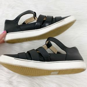Ziera Shoes - Ziera Comfort Black Leather Flat Arctic Dior 39FF